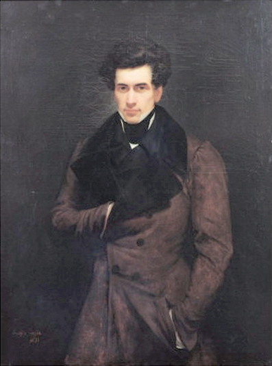 Armand Carrel par Ary Scheffer