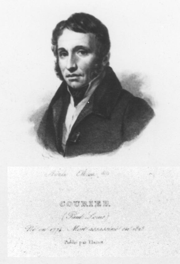 Paul-Louis Courier da Adèle Ethiou